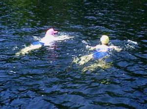 2002 Second Annual 13-km Swim For The Cure 3